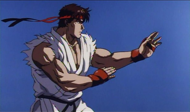 street fighter anime