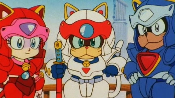 samurai pizza cats anime