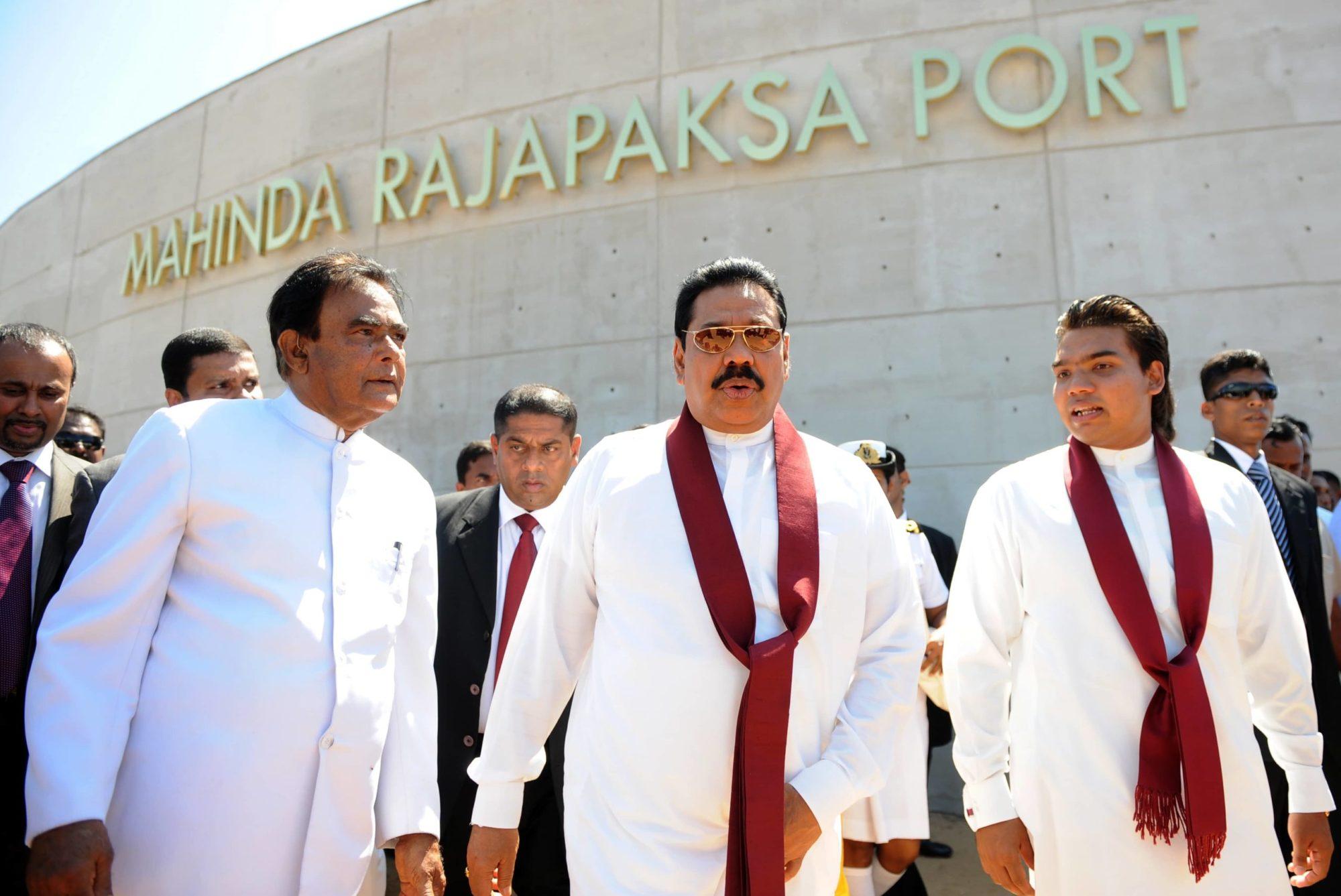 Hambantota Port Launch