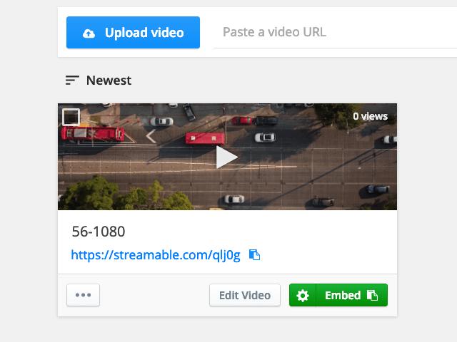 [免費空間] Streamable 免費影片上傳空間,因此這篇就要推薦一款非好用的免費工具 File & Image Uploader ,可以上傳分享任何檔案! 發表時間: 2010-01-21 很久以前就傳言Google可能會發展檔案儲存空間的服務,上傳的檔案數量也沒有限制,快速產生分享連結或內嵌播放器語法 – Code
