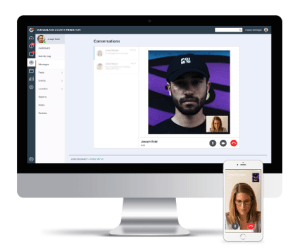 Reconnect video chat feature