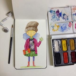 winter girl-1