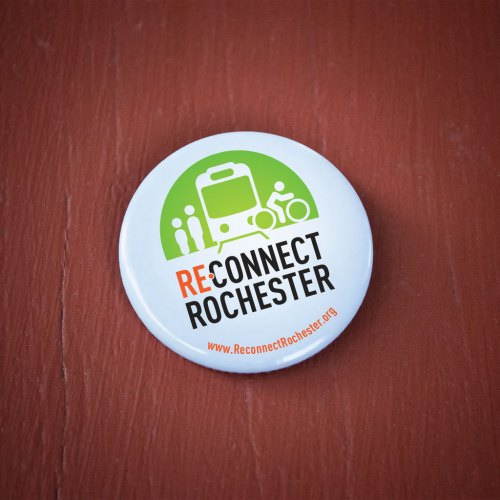 Reconnect Rochester Button
