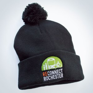Reconnect Rochester Pom Pom Hat