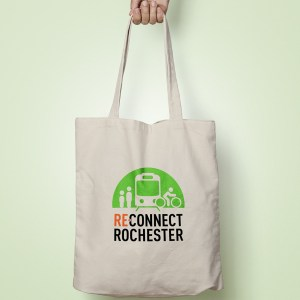 Reconnect Rochester Tote Bag