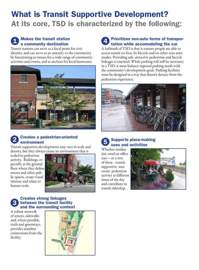 Transit Supportive Development (TSD)