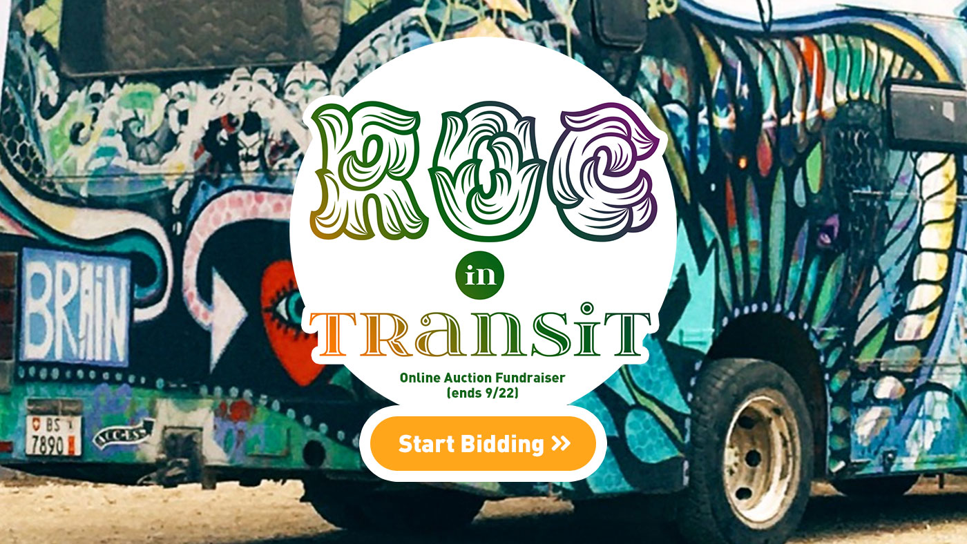 ROC in Transit - Auction Fundraiser