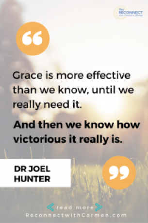 interview with dr joel hunter, grace is more effective than we know, until we really need it
