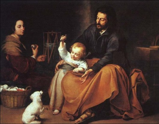 The Holy Family, by Murillo