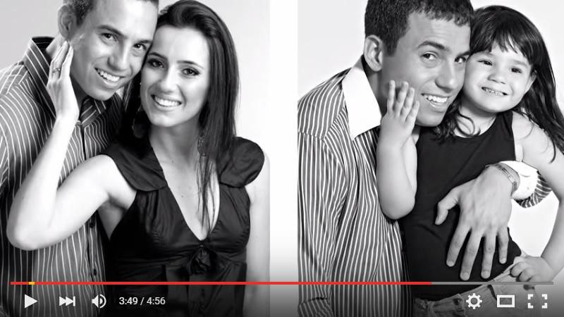 Uma História de Amor e Superação: pai e filha refazem fotos em homenagem à mamãe