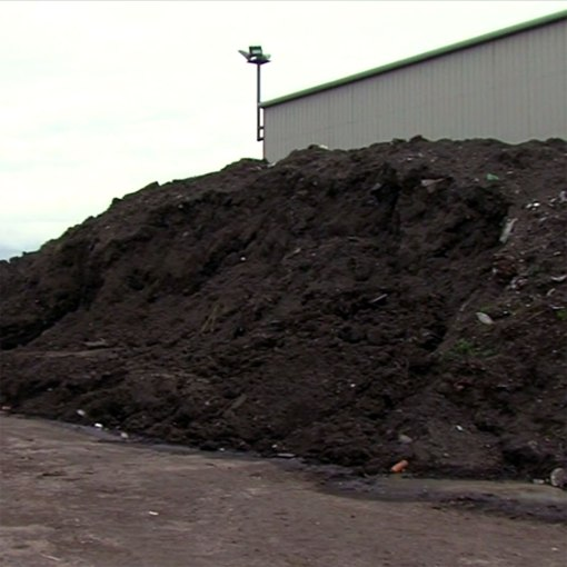 Sweeper Waste Recycling