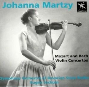 マルツィ /バッハ・モーツァルト ヴァイオリン協奏曲 レコード