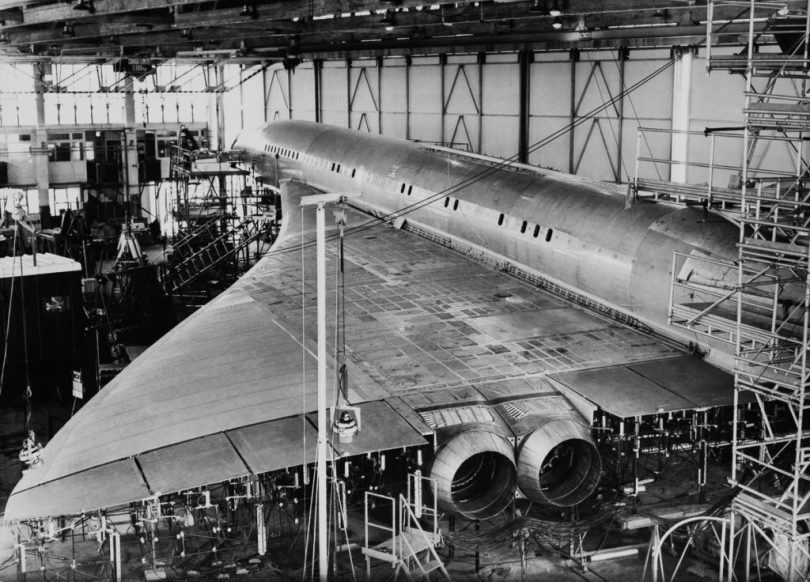 FRANCE - SEPTEMBER 08: Toulouse Blagnac International Airport, Concorde Aircraft, Vibration Tests On September 8Th 1967 (Photo by Keystone-France/Gamma-Keystone via Getty Images)
