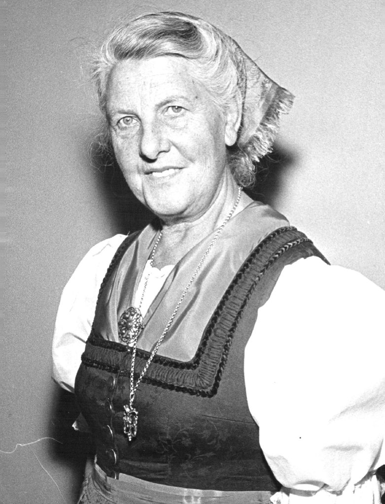 "APR 15 1964 Her Life Story Became "" The Sound of Music"" Baroness Maria Von Trapp - from riches to rags and back. Credit: Denver Post"