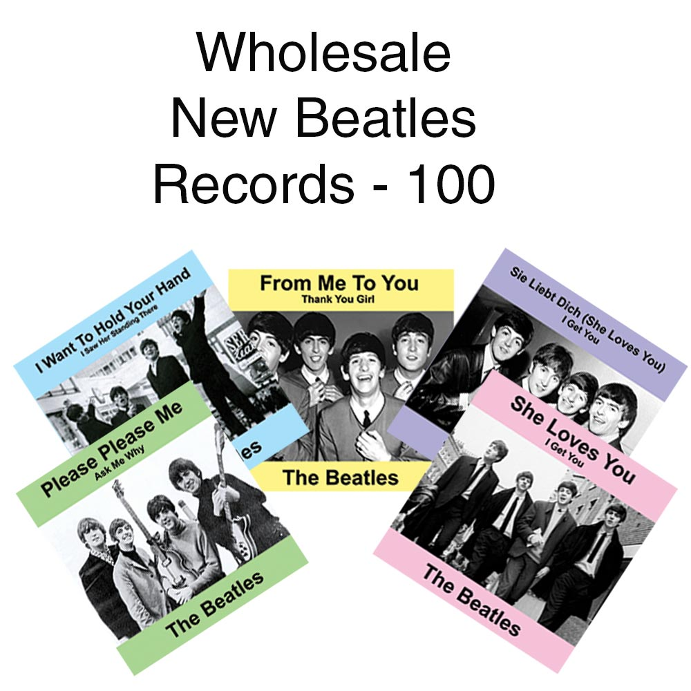 Wholesale New Beatles Records - 100
