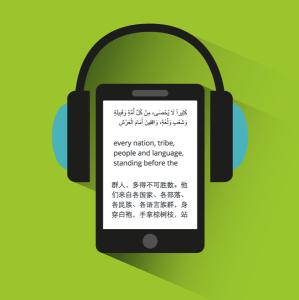 Multilingual Audiobooks