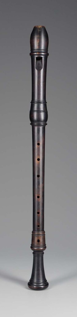 Original recorder - flauta antigua