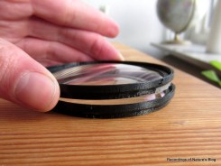 The stack of two CYL-filters, variable anti-aliasing filters for DSLR video
