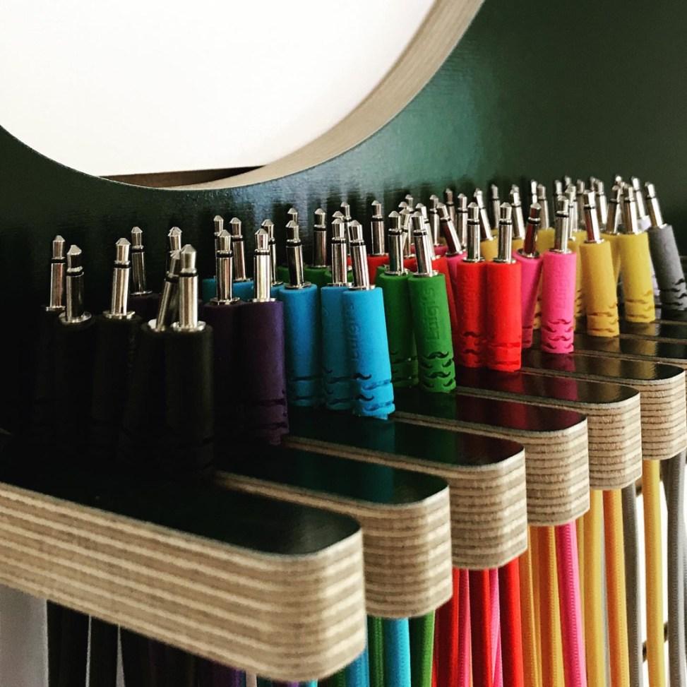 Eurorack Cable Hanger | Luigi Modular Supply