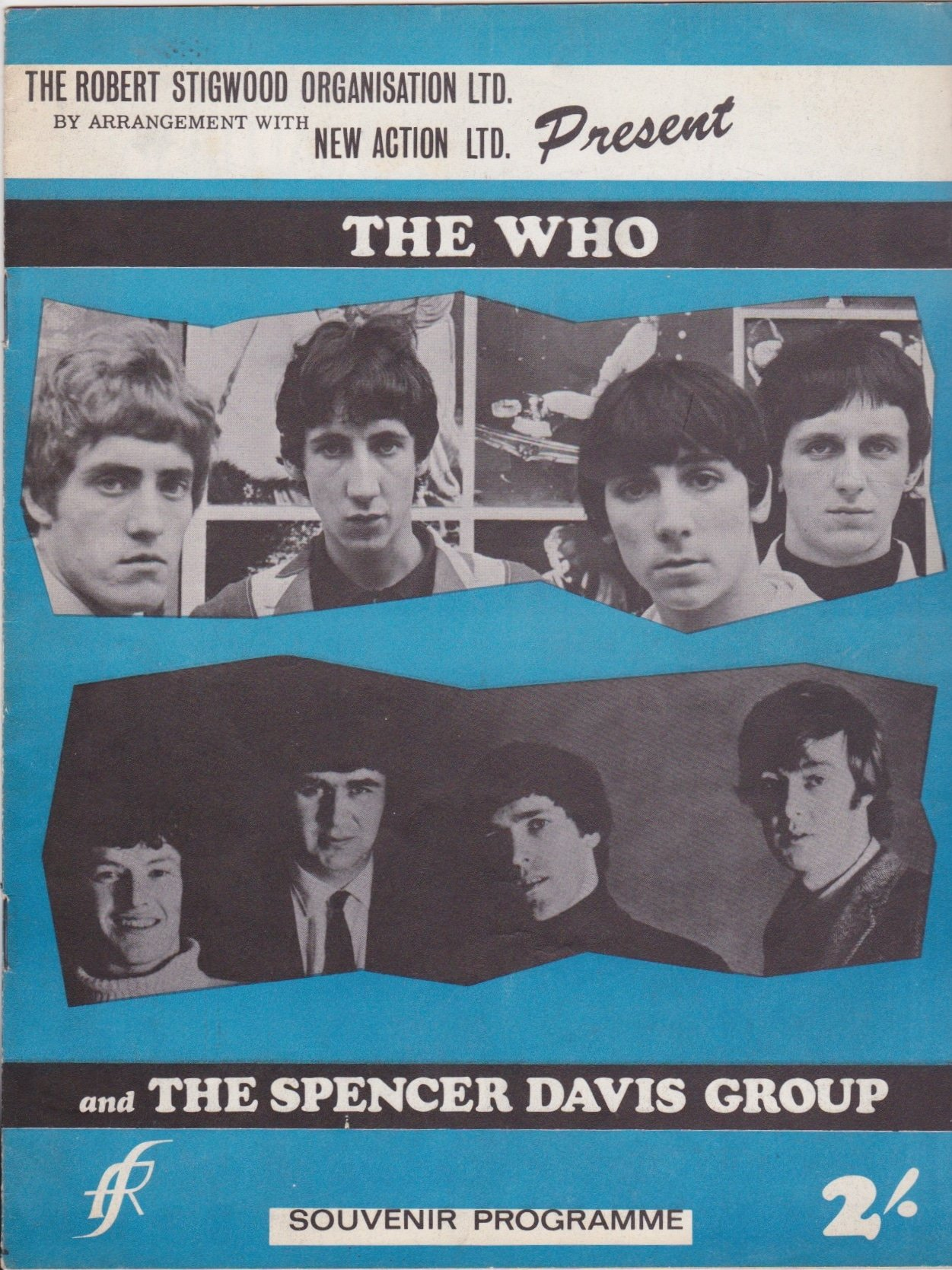 Image result for spencer davis the who package tour 1966