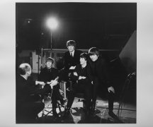 """The Beatles – 16″ x 20″ Set Photograph From """"A Hard Days Night"""""""