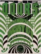 """The Doors – 1967 Crosstown Bus/Boston Concert Poster – Unknown Variant (Just After """"Light My Fire"""" Was #1)"""