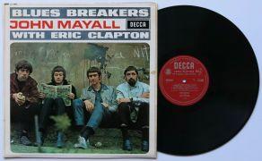 John Mayall & Eric Clapton – UK Mono Unboxed Decca Blues Breakers LP