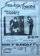 The Cramps – 1980 Seattle Concert Poster Showbox Theatre