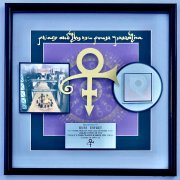 Prince – Record Award From Warner Bros For Prince & The New Power Generation