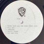 Van Halen – Unreleased Alternate 'Diver Down' Acetate LP (from former Warner Bros. Exec)
