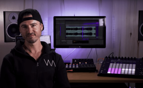 Slice and process your loops for crisp and punchy drums – Ableton Certified Trainer Vespers shows you the way.