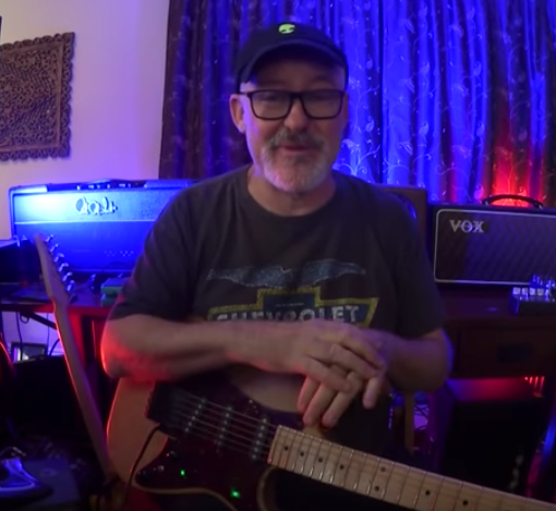 Tim Pierce's full length video on recording electric guitar with an R-122V and SM-57. This is a master class on TONE!