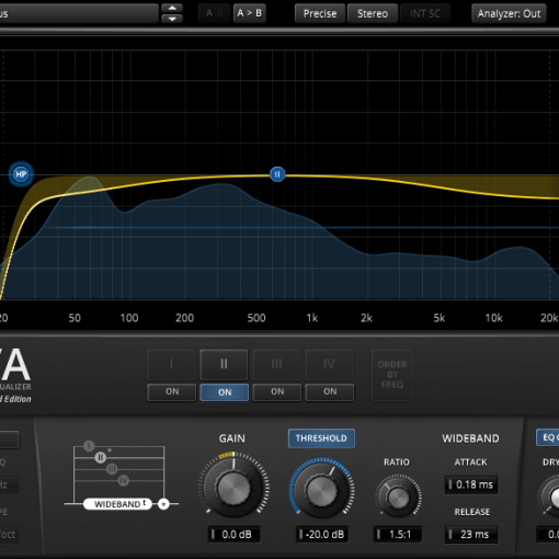 TDR Nova Free Parallel Dynamic Equalizer Plugin