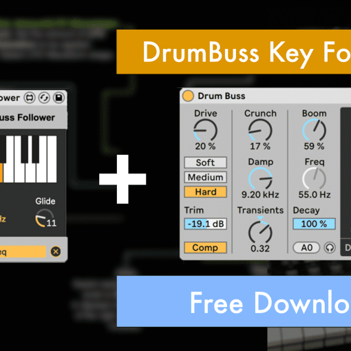 Ableton Live 10 Free Drumbuss Key Follower