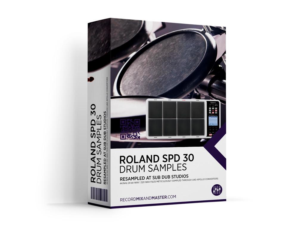 Roland SPD30 Drums - Record, Mix & Master
