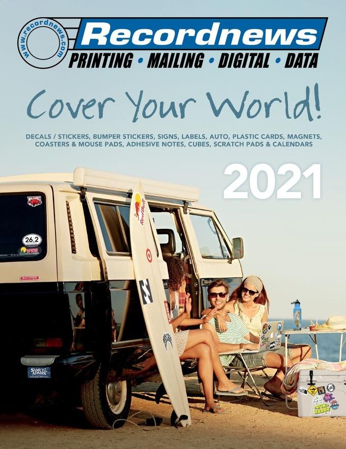 Recordnews 2021 Gill Studios catalog