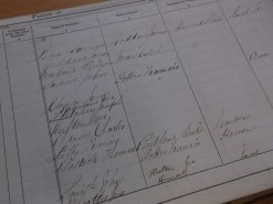 Ilkeston Parish Poor Rate Book, 1849 (D3357/1)