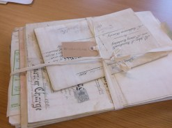 Bundle of title deeds for 5, 7 and 8 Thorpe Road, Ilkeston 1900-1983 (D5473/17/3/1-22)