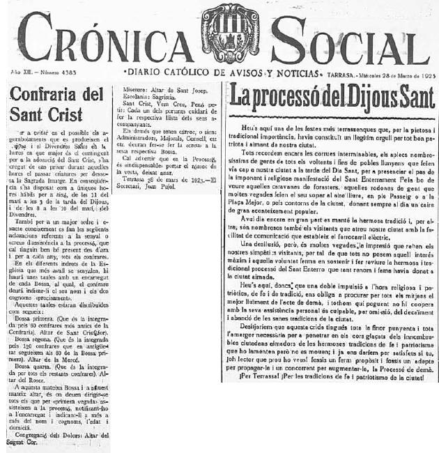 Cronica Social 1923