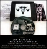 """WHITE WALLS - """"Malattia Mentale"""" (Special Edition) [RRUK014] CLICK TO VIEW -->"""