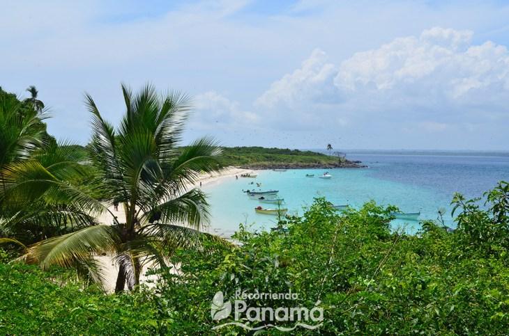 Iguana Island in Los Santos Province