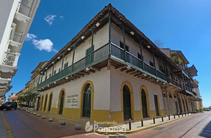 Casa Góngora, uno de los lugares gratis en Panamá.