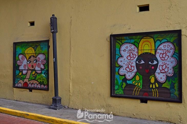 Entrada a Villa Agustina, uno de los lugares gratis en Panamá.
