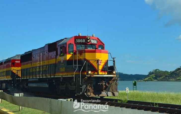 Ferrocarril de Panamá.