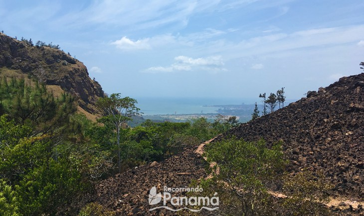 One of my views on the hike to Chame Hill