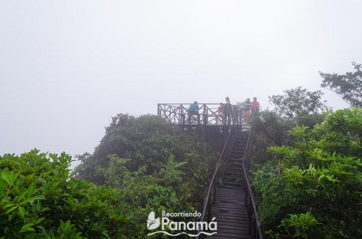 El mirador del Cerro la Gaita