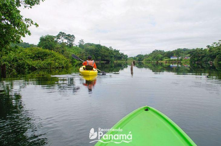 Vista desde el Kayak.
