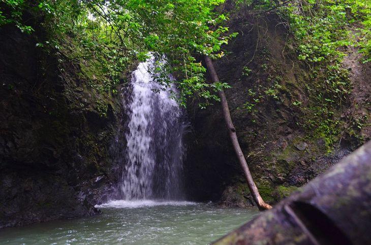 El Salto waterfall at El Cacao Cave