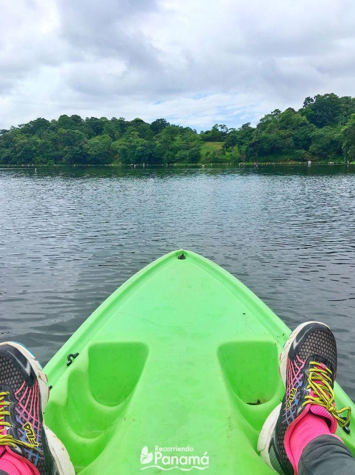 Foto desde el Kayak