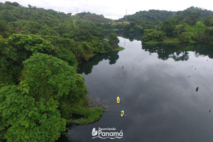 Kayak in Gatún Lake